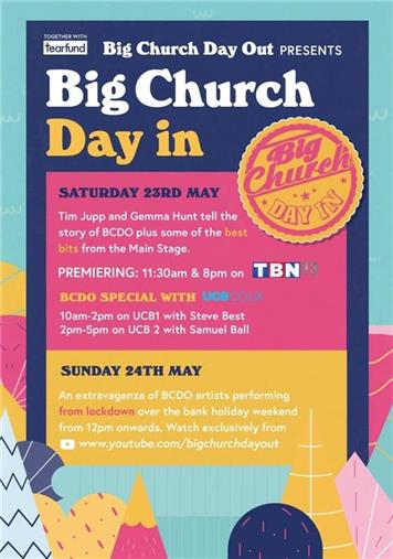 - Big Church Day IN!