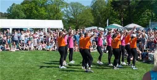 The Laura Henderson dance crew show us their moves - The May Fair - what a wonderful afternoon
