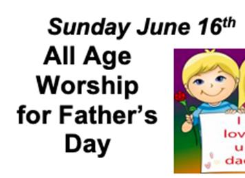 - Father's Day Service